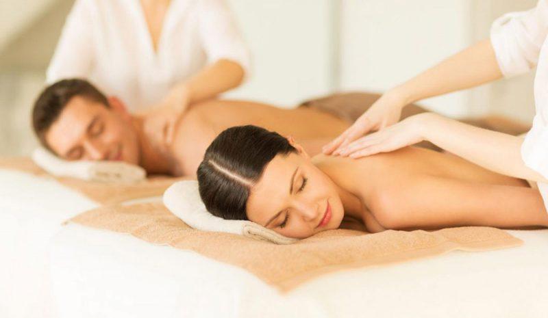 promocion luz spa masaje pareja